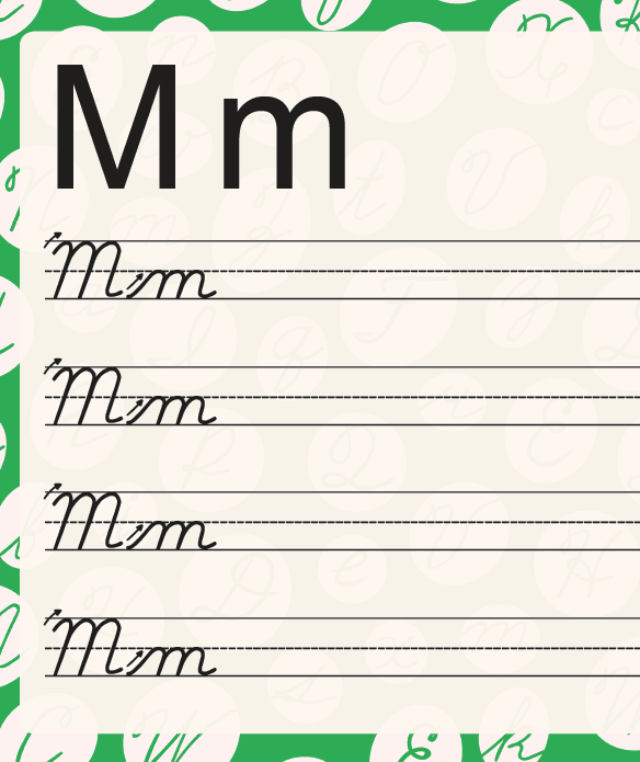 cursive-practice-sheet-m
