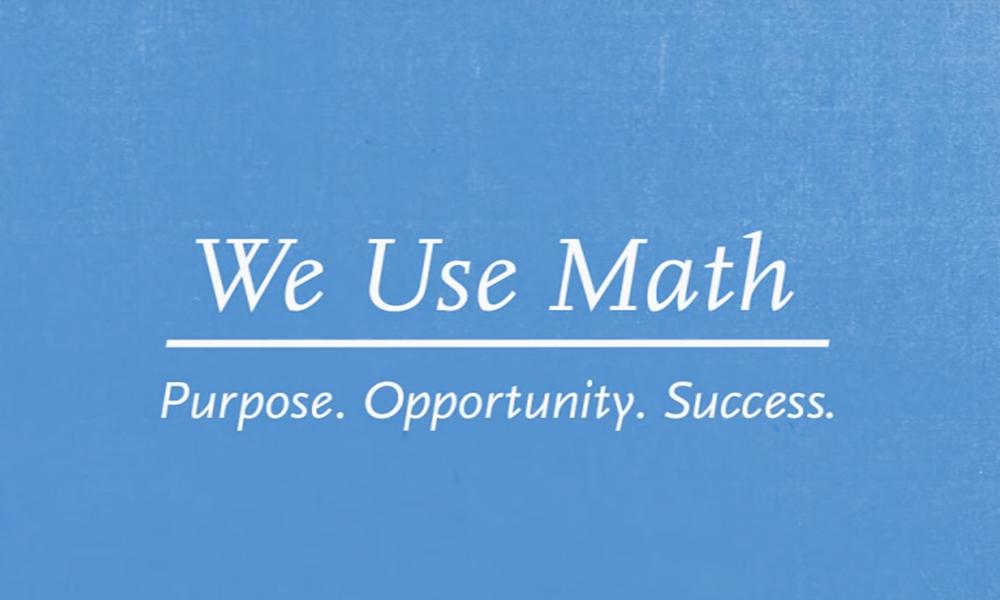 We-Use-Math