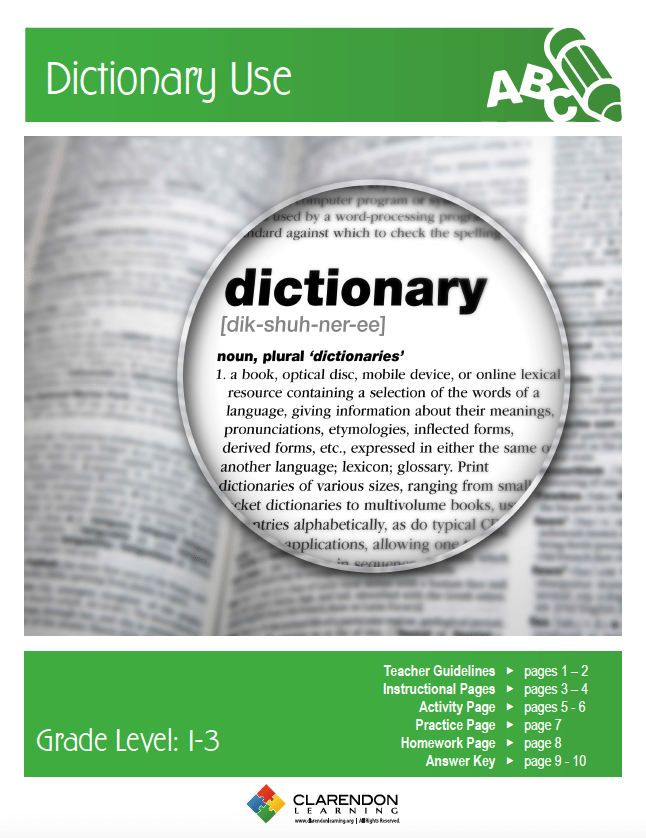 Dictionary Use