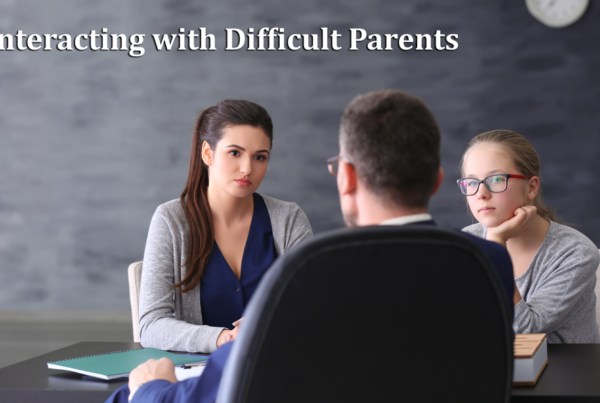 Interacting with Difficult Parents