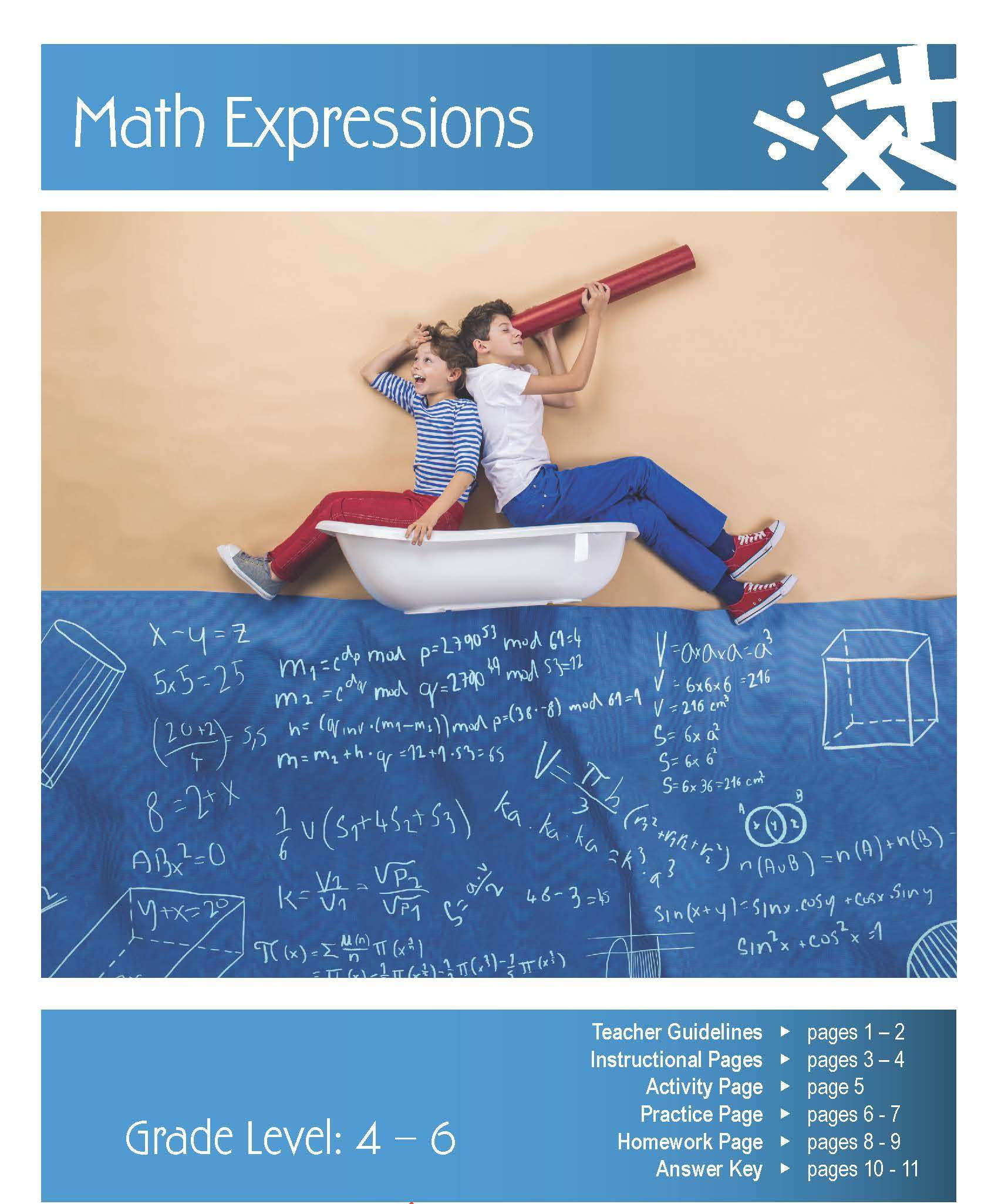 Math Expressions Lesson Plan | Clarendon Learning