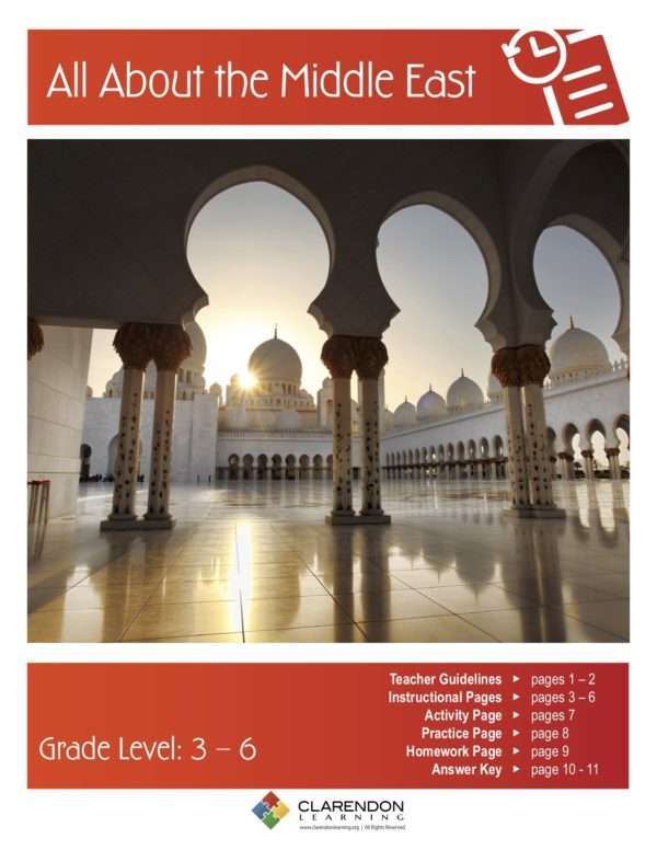 All About the Middle East Lesson Plan