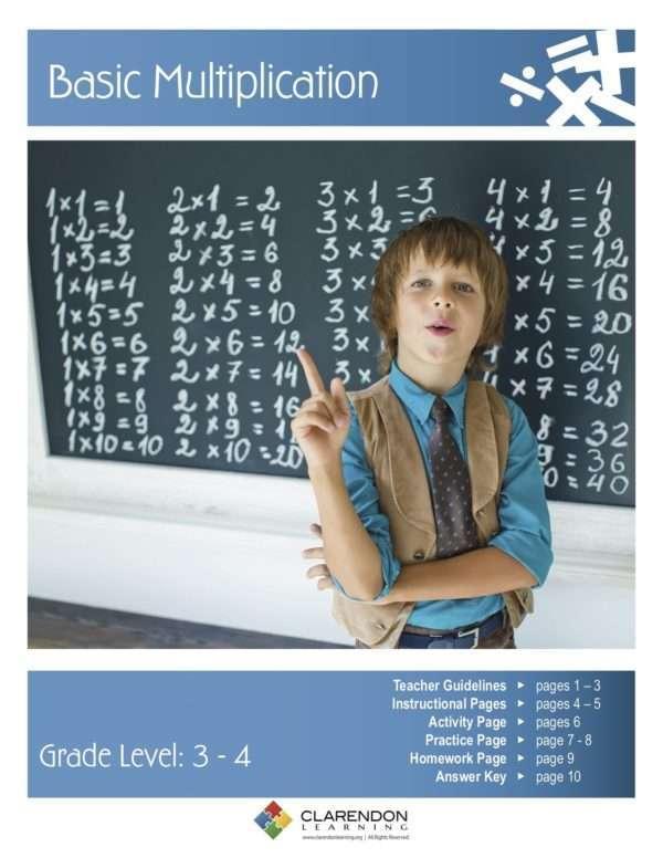 Basic Multiplication Lesson Plan