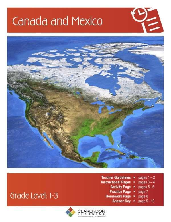 Canada and Mexico Lesson Plan