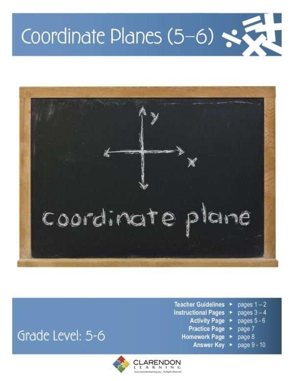 Coordinate Planes Lesson Plan
