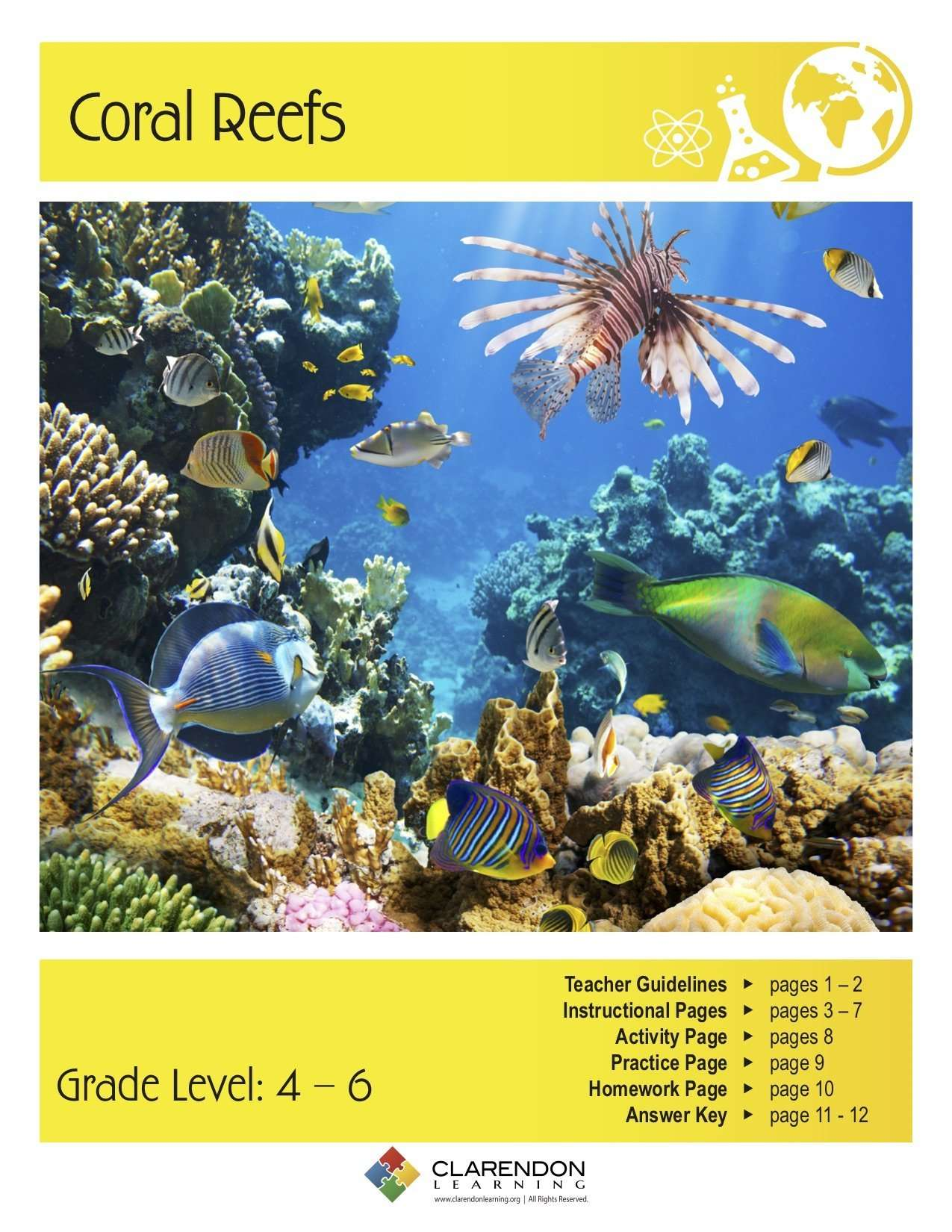 Coral Reefs Lesson Plan | Clarendon Learning