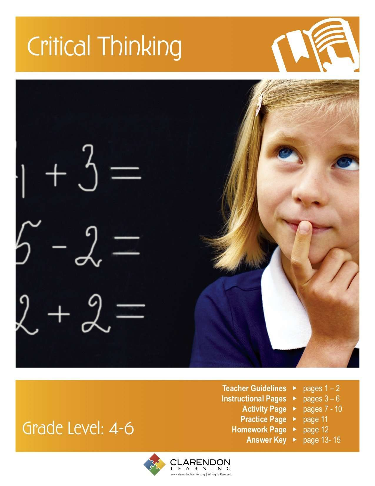 Lesson plans critical thinking middle school