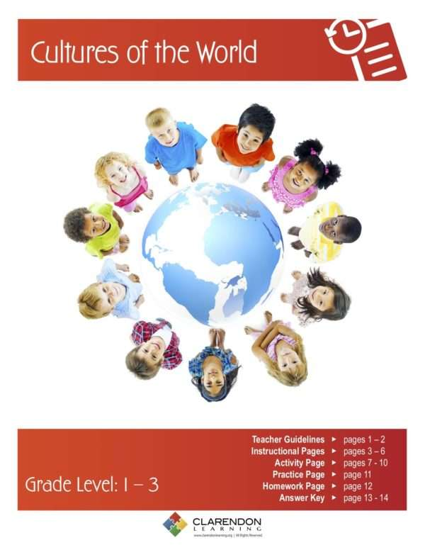 Cultures of the World Lesson Plan