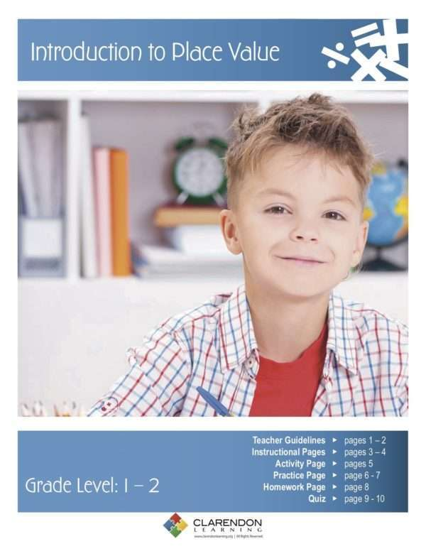 Introduction to Place Value Lesson Plan
