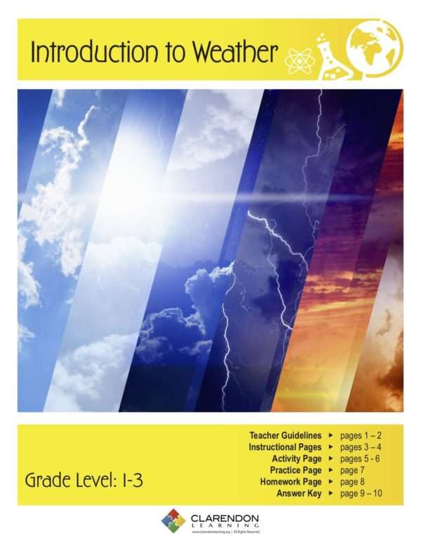 Introduction to Weather Lesson Plan