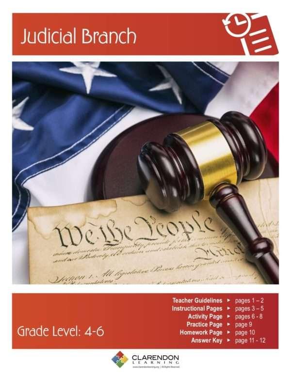 Judicial Branch Lesson Plan