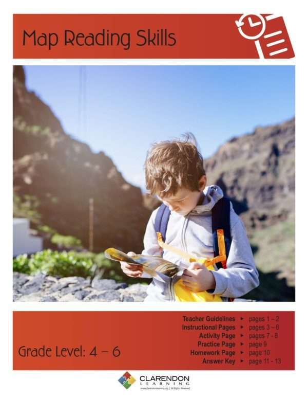 Map Reading Skills Lesson Plan