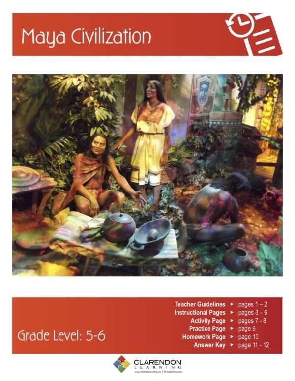Maya Civilization Lesson Plan