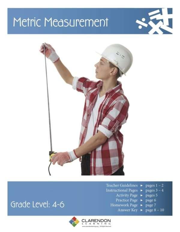 Metric Measurement (Grades 4-6) Lesson Plan