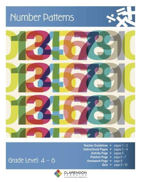 Number Patterns Lesson Plan