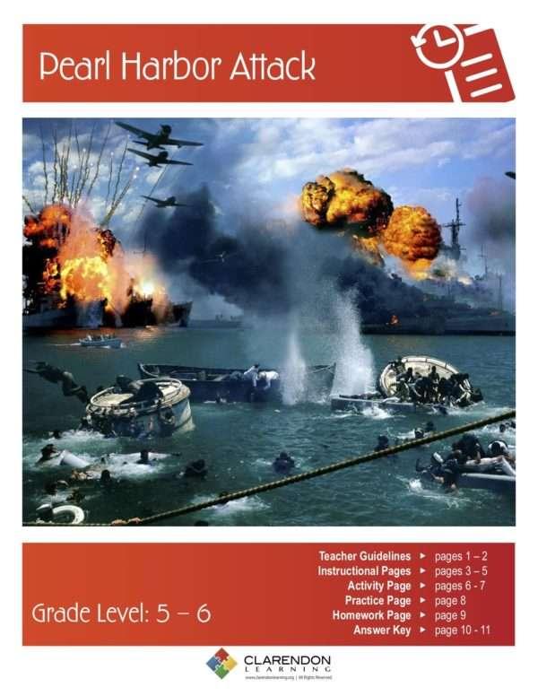 Pearl Harbor Attack Lesson Plan