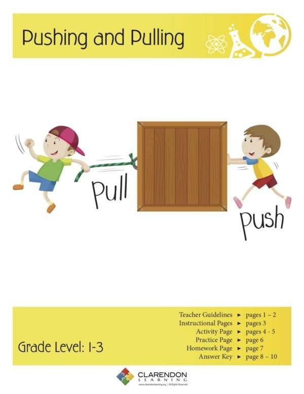 Pushing and Pulling Lesson Plan