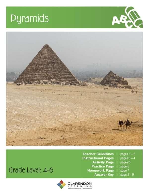 Pyramids Lesson Plan
