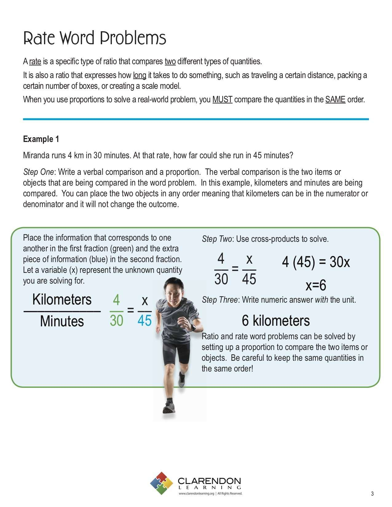Ratio and Rate Word Problems