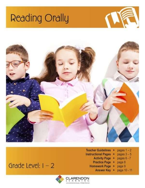 Reading Orally (Grades 1-2) Lesson Plan