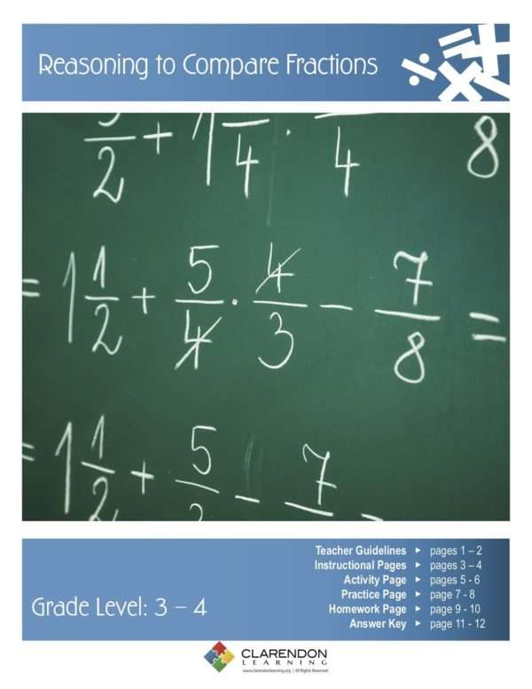 Reasoning to Compare Fractions Lesson Plan