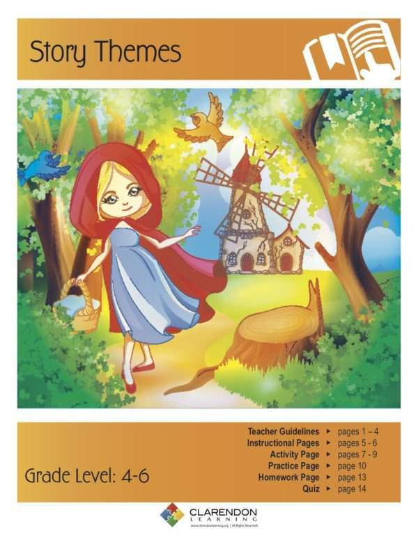 Story Themes Lesson Plan