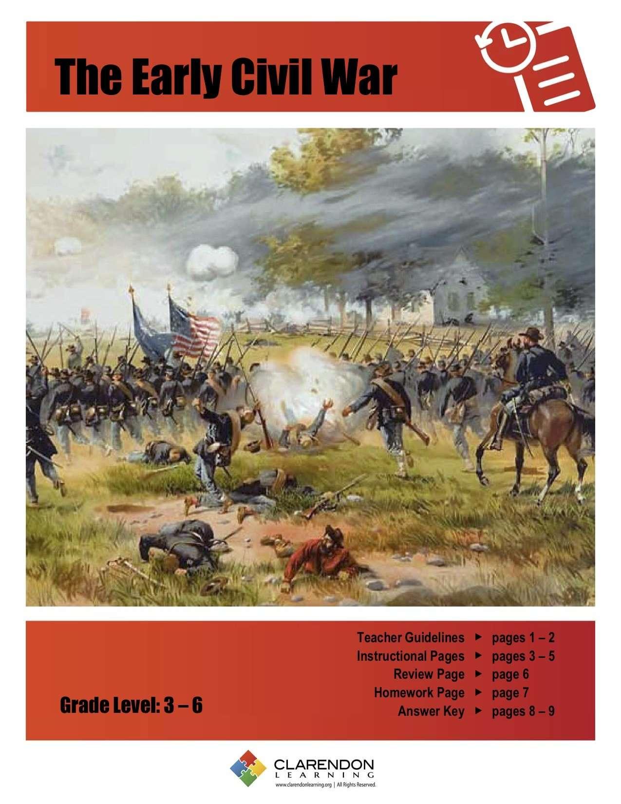 The Civil War Lesson Plan