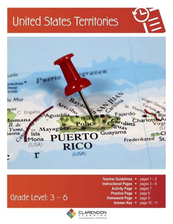 United States Territories Lesson Plan