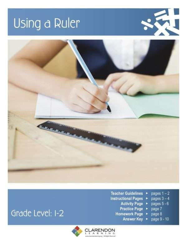 Using a Ruler Lesson Plan