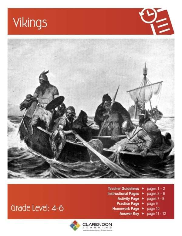 Vikings Lesson Plan