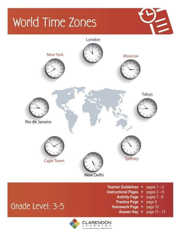 World Time Zones Lesson Plan