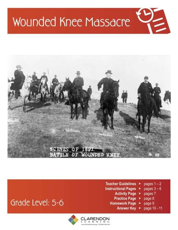 Wounded Knee Massacre Lesson Plan
