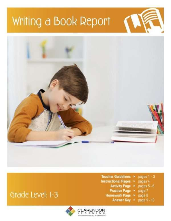 Writing a Book Report Lesson Plan