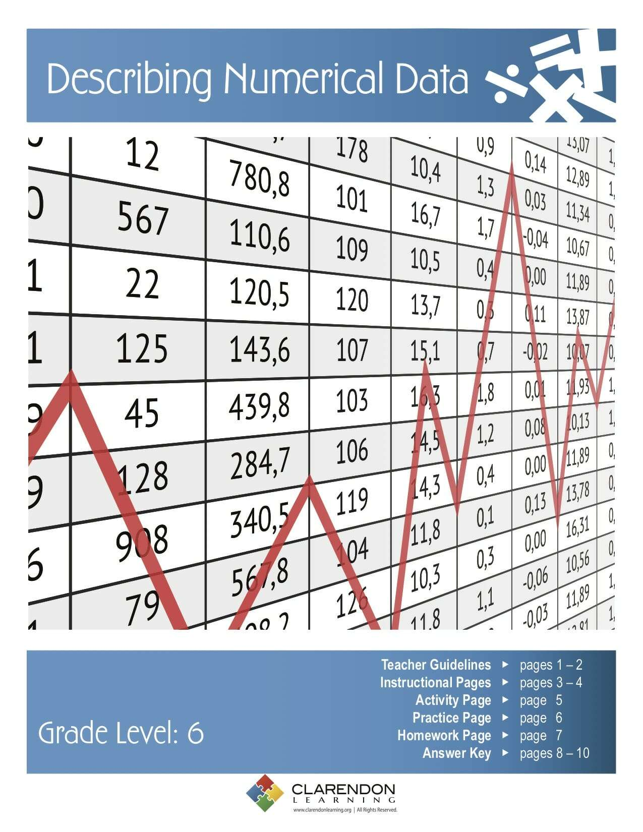 Describing Numerical Data Lesson Plan