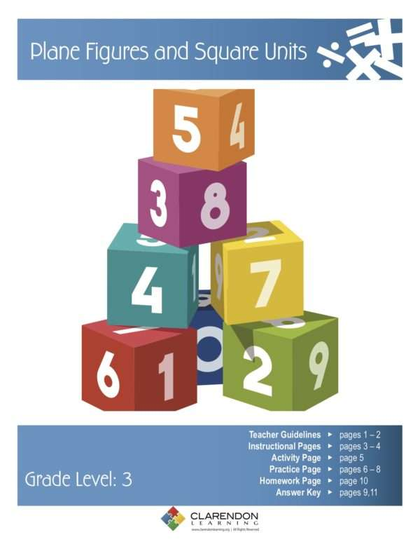 Plane Figures and Square Units Lesson Plan