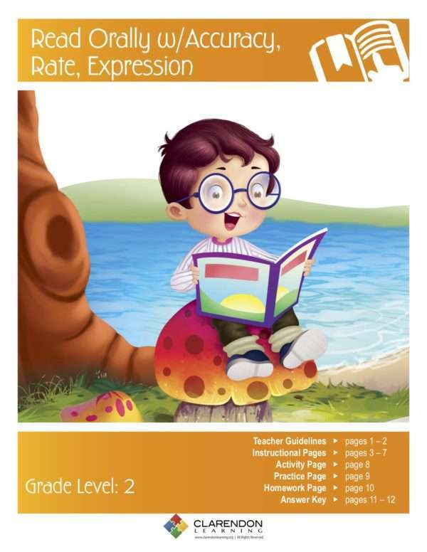 Read Orally with Accuracy, Rate, Expression Lesson Plan