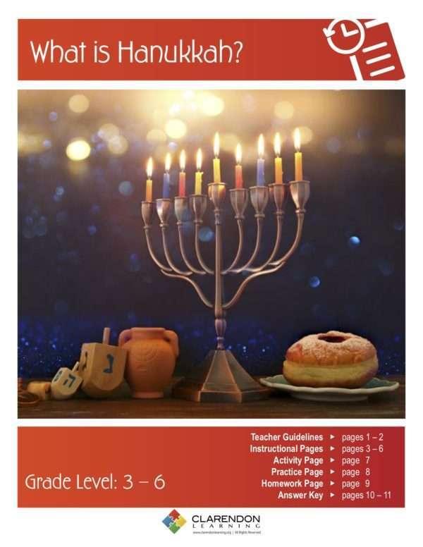 What is Hanukkah? Lesson Plan