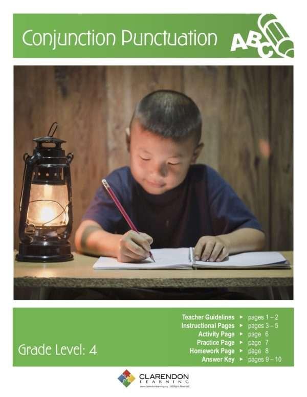 Conjunction Punctuation Lesson Plan