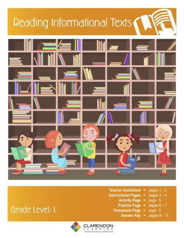 Reading Informational Texts Lesson Plan