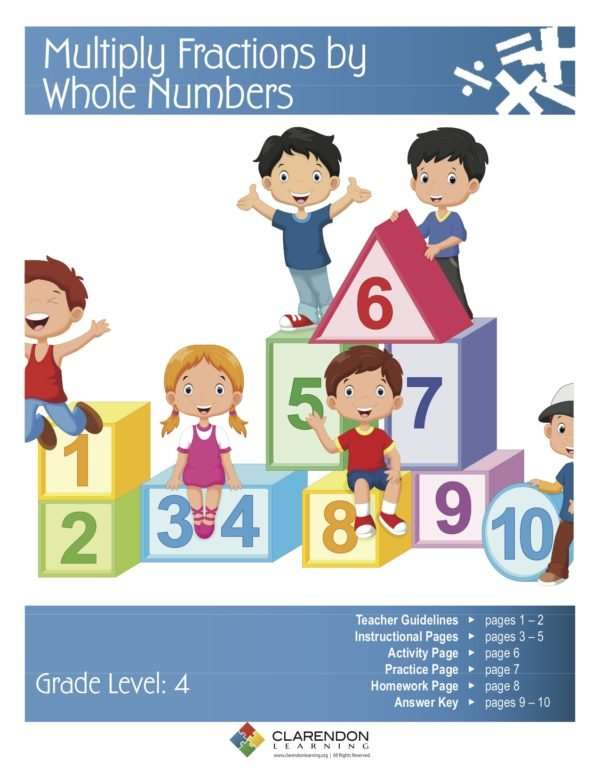 Multiply Fractions by Whole Numbers Lesson Plan