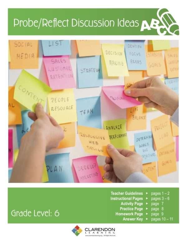 Probe:Reflect Discussion Ideas Lesson Plan