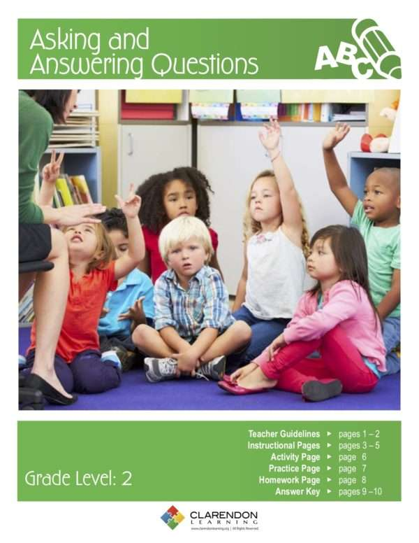 Asking and Answering Questions Lesson Plan