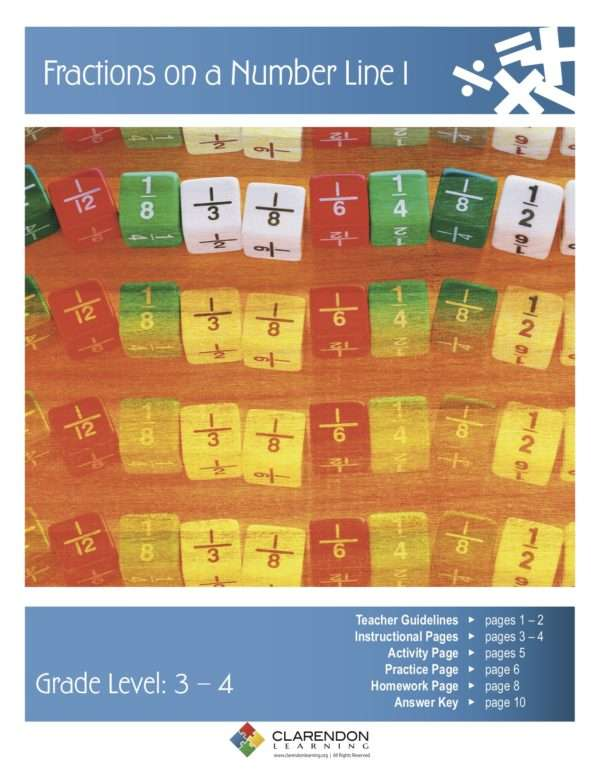 Fractions on a Number Line Lesson Plan