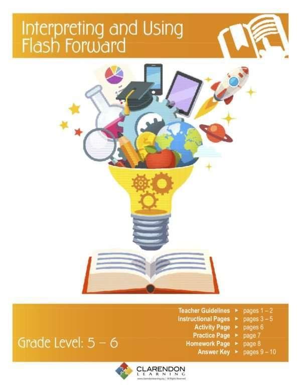 Interpreting and Using Flash Forward Lesson Plan