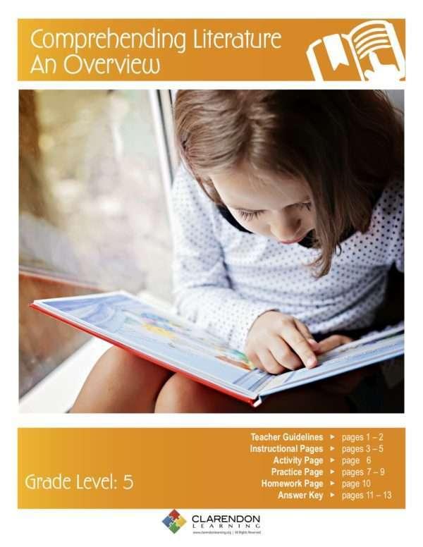 Comprehending Literature  An Overview Lesson Plan