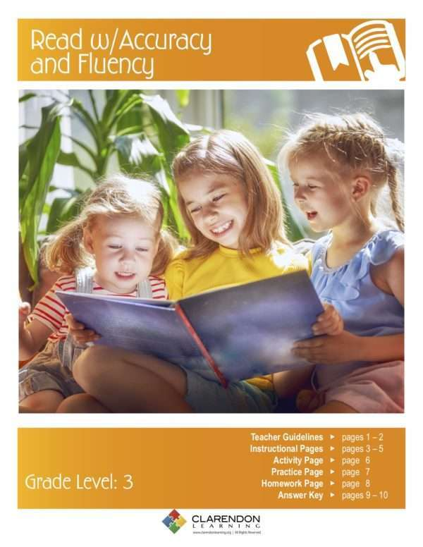 Read with Accuracy and Fluency Lesson Plan