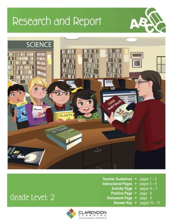Research and Report Lesson Plan