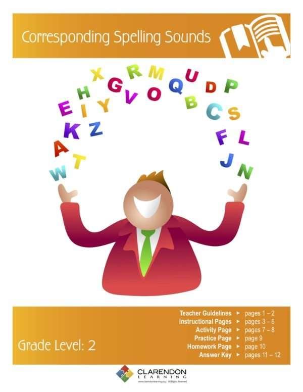 Corresponding Spelling Sounds Lesson Plan