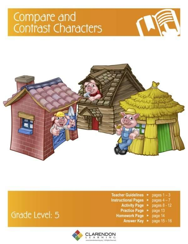 Compare and Contrast Characters Lesson Plan